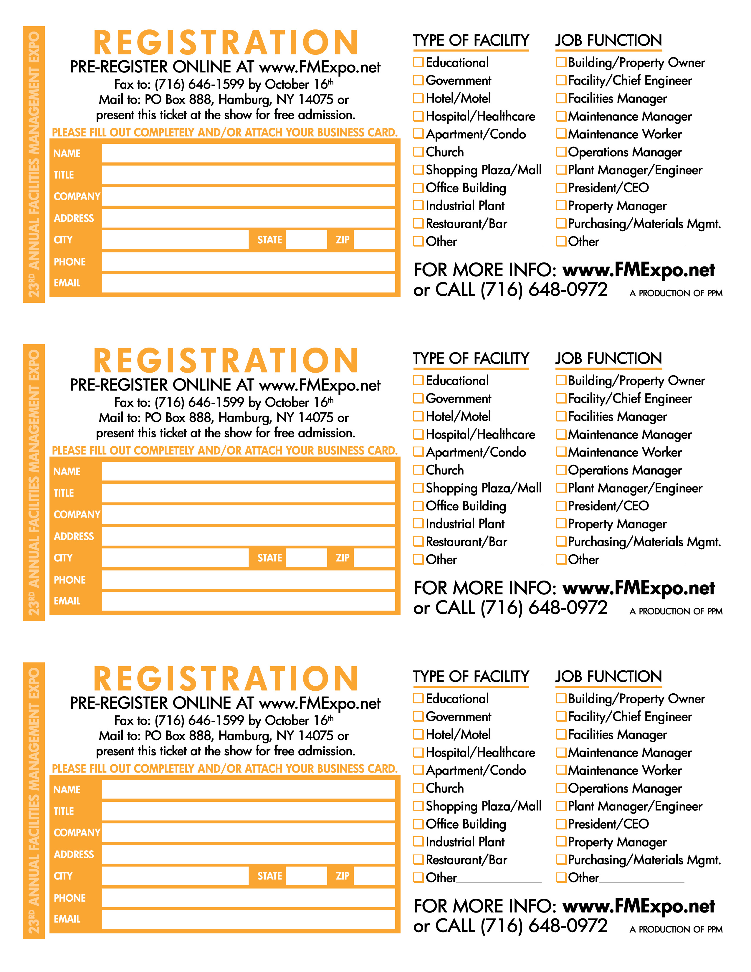 Exhibitor marketing tools wny facilities management expo complimentary tickets click to download reheart Image collections